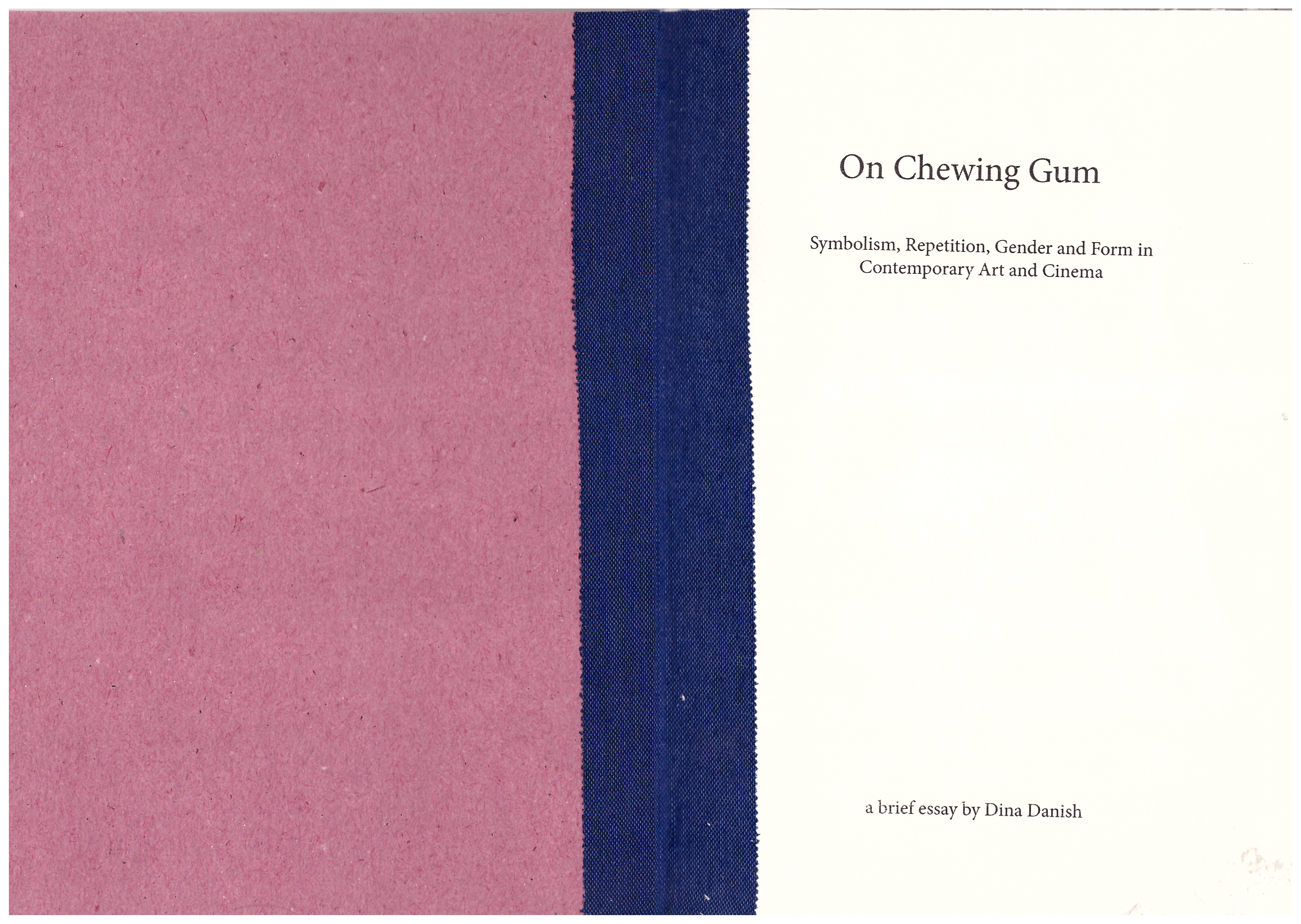 Dina Danish On Chewing Gum