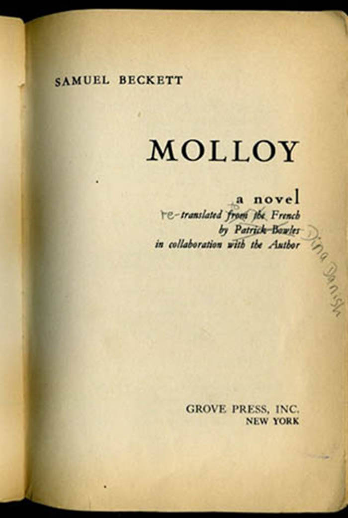 Dina Danish Molloy Re-translated to French